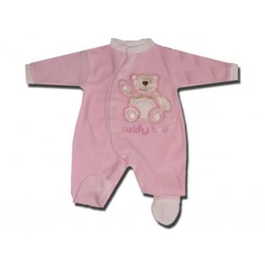 Pyjama bébé 0-3 mois rose Cuddly bear