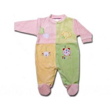 Pyjama Bébé 9 mois Rose Réveil