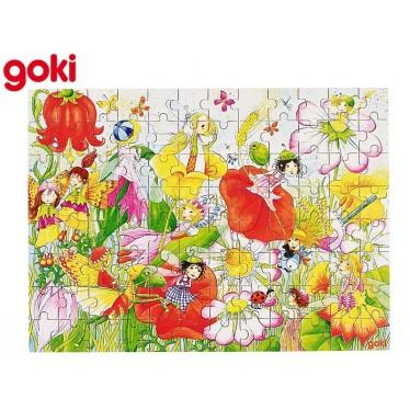 Puzzle Fées des fleurs en coffret