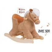 Cheval à Bascule, bébé avec siège