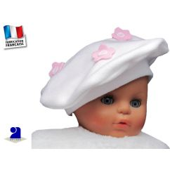 http://bambinweb.com/1729-6948-thickbox/beret-blanc-polaire-fleurs-roses-12-18-mois.jpg