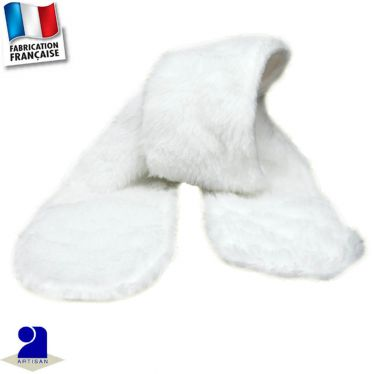 Echarpe fausse fourrure Made in France