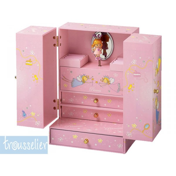 armoire bijoux musicale princesse. Black Bedroom Furniture Sets. Home Design Ideas