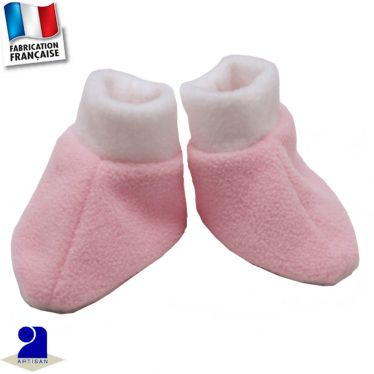 Chaussons 0 mois-12 mois Made in France