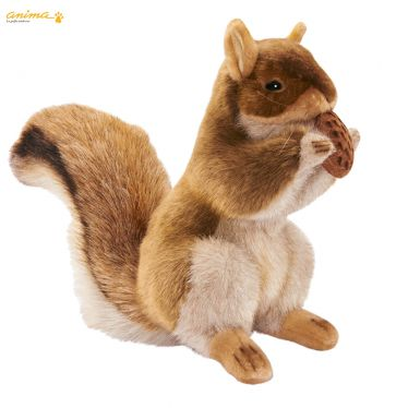 Peluche Ecureuil dresssé 23 cm
