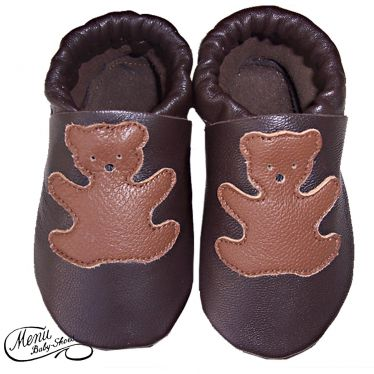 Chaussons cuir souple