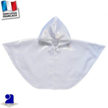 Cape brillante à capuche Made in France