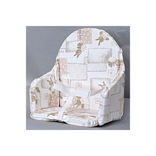 coussin chaise haute b b lapinou. Black Bedroom Furniture Sets. Home Design Ideas
