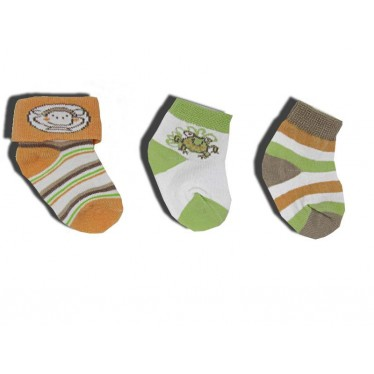 Lot 3 paires de chaussettes 6-12 mois