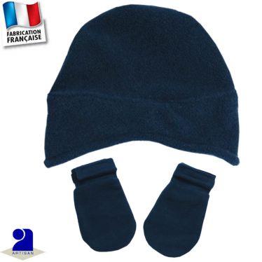 Bonnet + moufles Made in France
