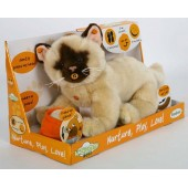 Peluche Interactive Chat Kidoux