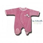 Pyjama prématuré, rose
