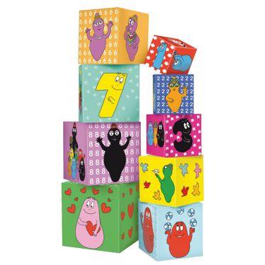 Cubes Gigognes Barbapapa en carton