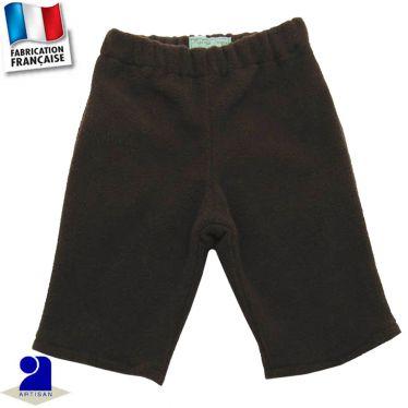 Pantalon uni chaud Made in France