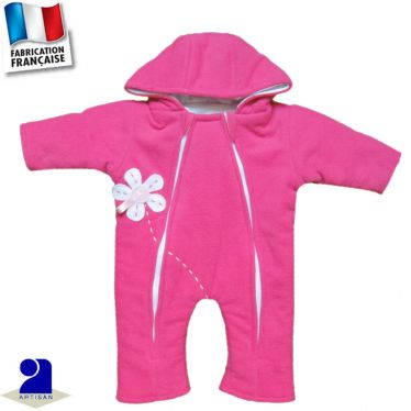 Combinaison-Pilote 0 mois-3 ans Made in France