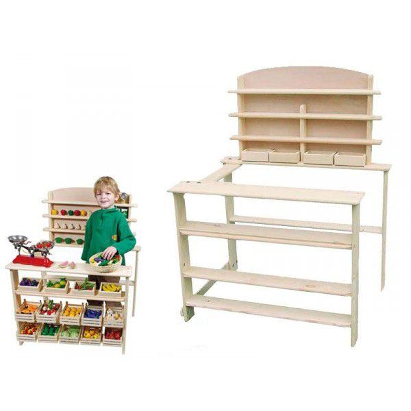 epicerie enfant jouet en bois. Black Bedroom Furniture Sets. Home Design Ideas