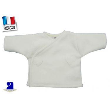 Brassière polaire taille prématuré, Made In France
