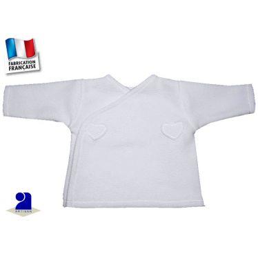 Gilet polaire taille prématuré, Made In France