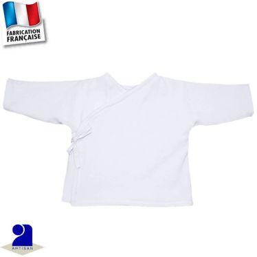Gilet-brassière avec liens 0 mois-24 mois Made in France
