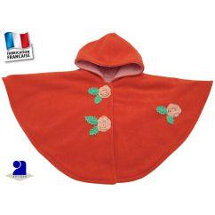 http://bambinweb.eu/3601-7045-thickbox/cape-bebe-polaire-orange-fleurs-crochetees-0-12-mois.jpg