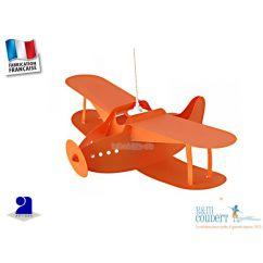 Suspension Avion Orange, R.et M. Coudert