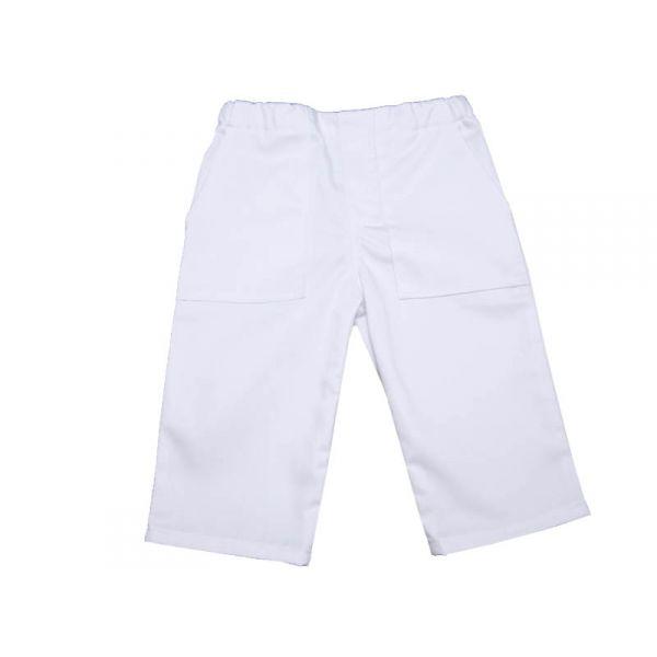 tenue bapt me gar on pantalon et chemise coton blanc. Black Bedroom Furniture Sets. Home Design Ideas