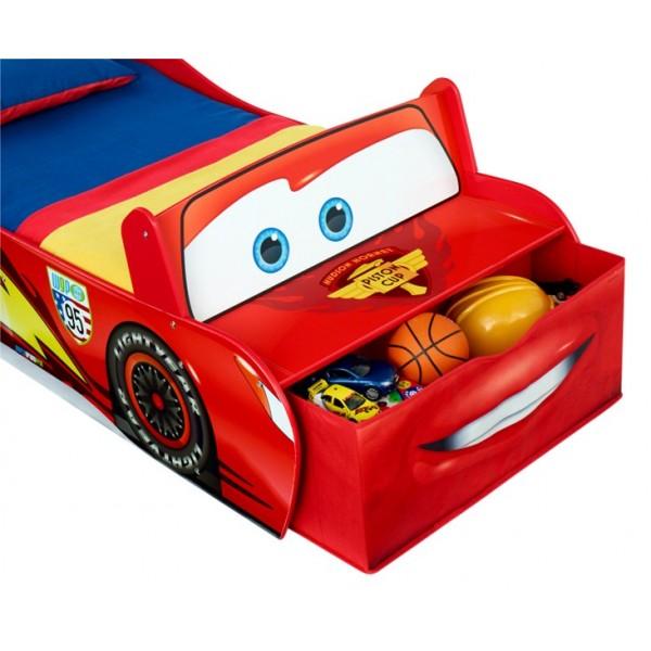 Lit en bois en forme de voiture cars disney - Voiture cars disney ...