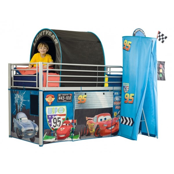 tente de lit pour enfant cars. Black Bedroom Furniture Sets. Home Design Ideas