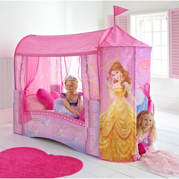 Lit fille disney princesses - Chambre fille princesse disney ...