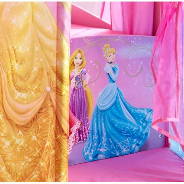 lit fille disney princesses. Black Bedroom Furniture Sets. Home Design Ideas