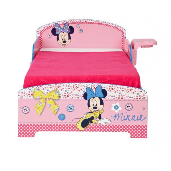 lit d 39 enfant avec rangement minnie. Black Bedroom Furniture Sets. Home Design Ideas