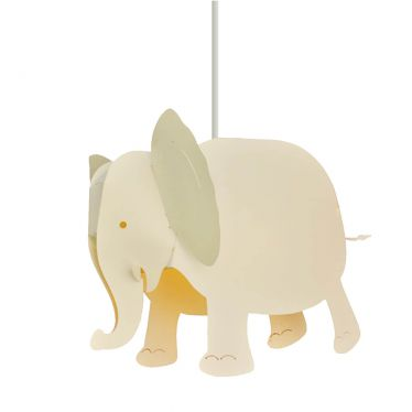 Lampe suspension Eléphant