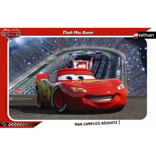 puzzle cars flash mcqueen. Black Bedroom Furniture Sets. Home Design Ideas