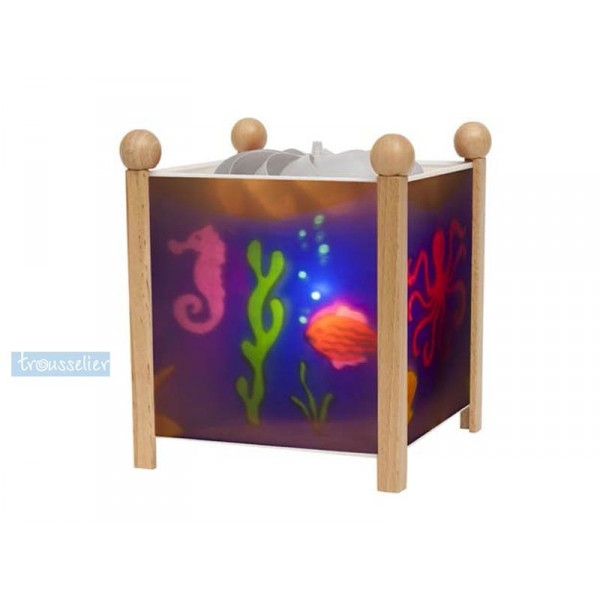 lanterne magique la mer trousselier. Black Bedroom Furniture Sets. Home Design Ideas