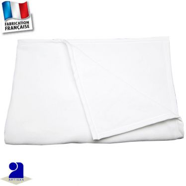 Plaid-couverture chaud, double face Made in France