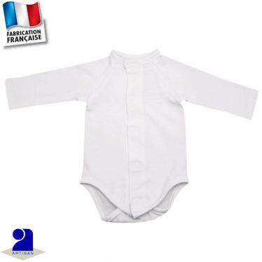 Body manches longues 0 mois-3 ans Made in France