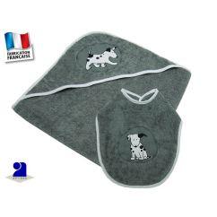 http://cadeaux-naissance-bebe.fr/4081-5945-thickbox/cape-de-bain-bebe-grise-75-x-75-cm-et-bavoir.jpg