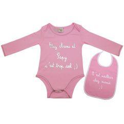 http://www.bambinweb.eu/4105-5983-thickbox/body-bavoir-bebe-mamie-papy-rose-3-mois.jpg