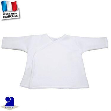 Gilet-brassière forme croisée 0 mois-24 mois Made in France