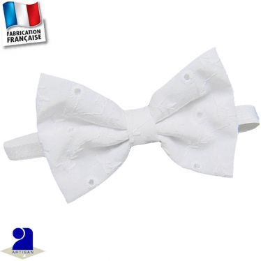 Noeud papillon broderie Made in France