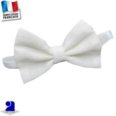 Noeud papillon lin Made in France