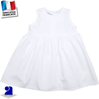 Robe sans manches 3 mois-6 ans Made in France