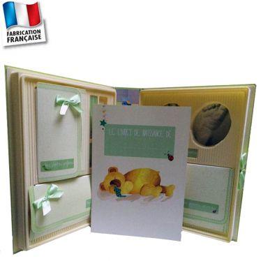 Coffret naissance complet avec kit empreinte bébé