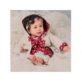 Robe boule et veste à capuche bébé 3 mois