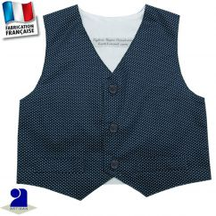 Gilet sans manches 3 mois-10 ans Made in France