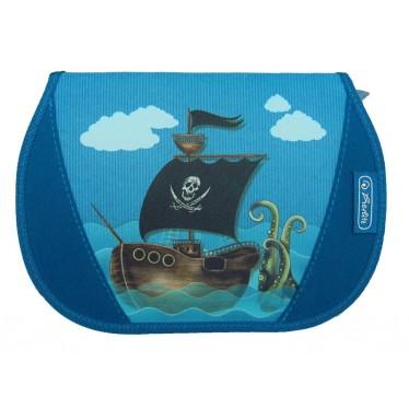 Trousse scolaire garnie 26 pièces Pirate