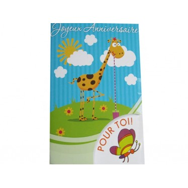 Joyeux anniversaire Girafe