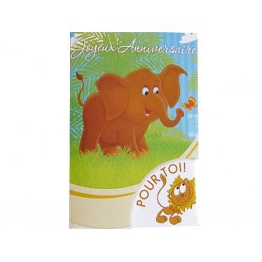 Joyeux anniversaire Eléphant
