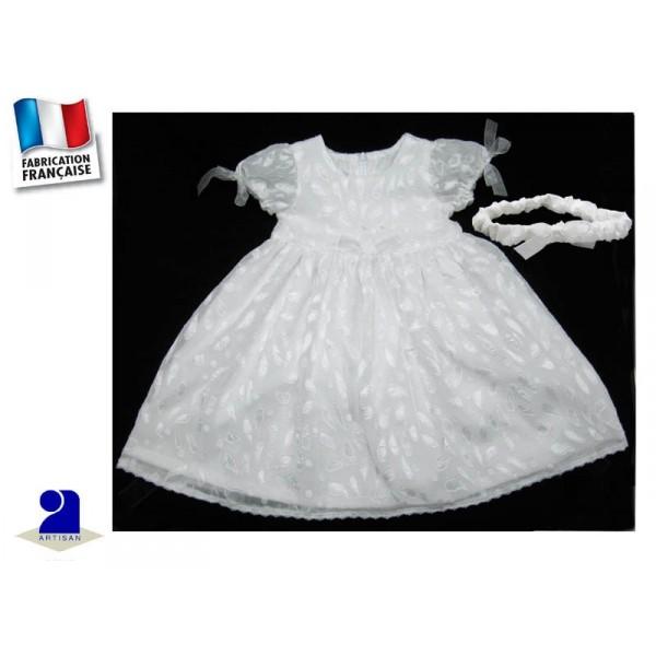 tenue bapt me fille robe bapt me fille blanche 12 mois. Black Bedroom Furniture Sets. Home Design Ideas