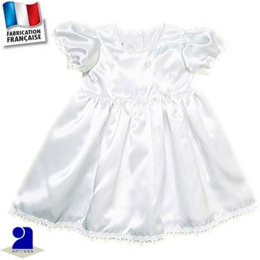 Robe avec perles Made in France
